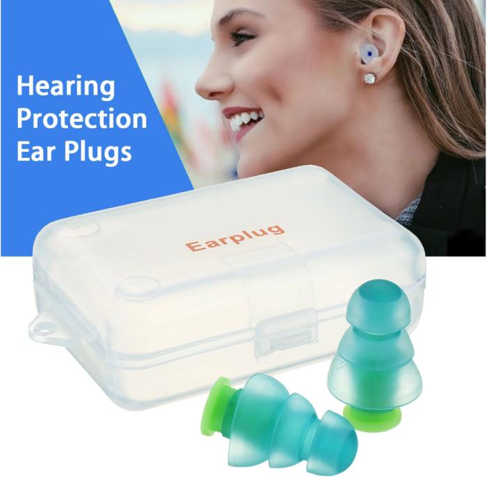 אטמי אוזניים איכותיים מסיליקון לשינה