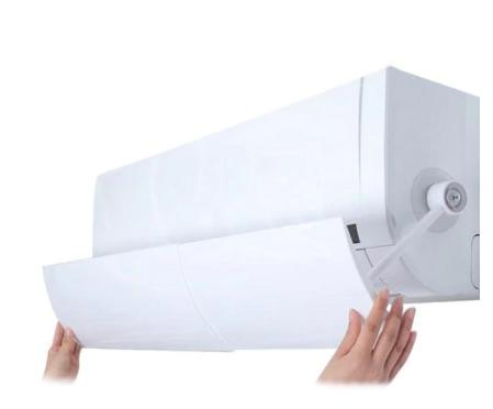 כנף גדולה המתלבשת על פתח המזגן לשליטה טובה יותר בהזרמת האוויר