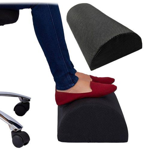כרית ארגונומית למנוחה לרגליים בזמן ישיבה על המחשב
