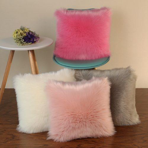 כיסוי רך לכריות נוי במגוון צבעים