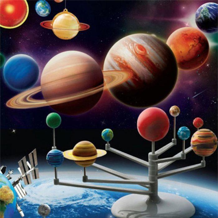ערכה ליצירת דגם של מערכת השמש