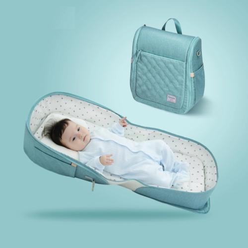 מיטה ניידת לתינוק המתקפלת לתיק