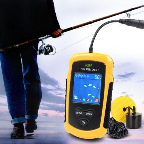 מכשיר עזר לדייגים לגילוי דגים מתחת למים