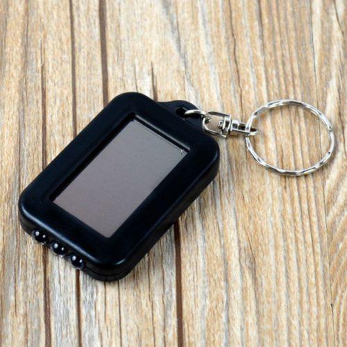 מחזיק מפתחות פנס הנטען באופן סולארי