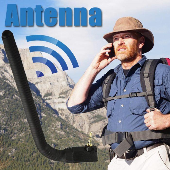 אנטנה המתחברת לפלאפון להגברת הקליטה