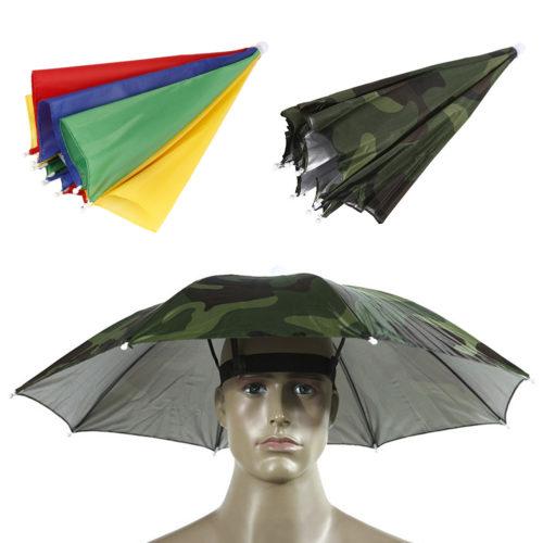 מטריה לראש ללא צורך בהחזקה