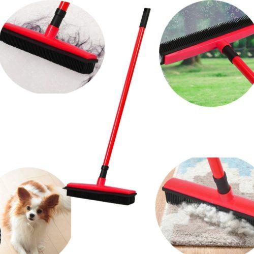 מטאטא סיליקון לניקוי מקצועי של רצפות ושטיחים ועוד