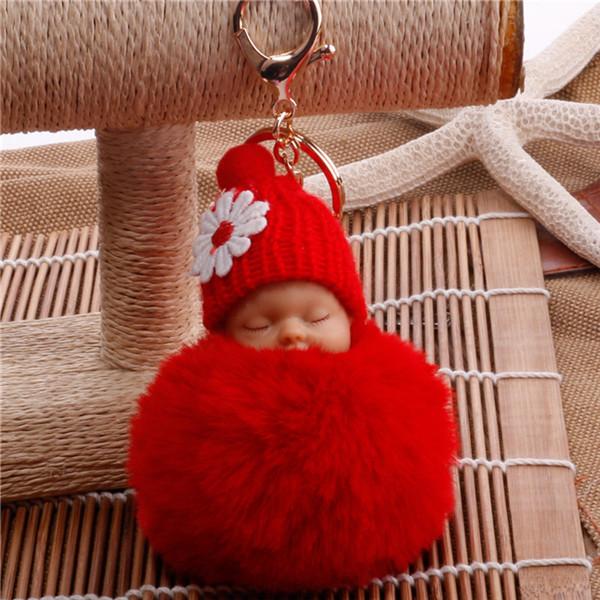 מחזיק מפתחות חמוד בצורת תינוק ישן