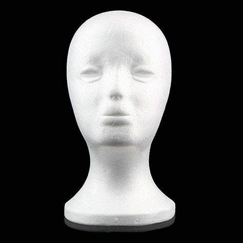 פסל דמוי ראש מקלקר לאחסון פיאות