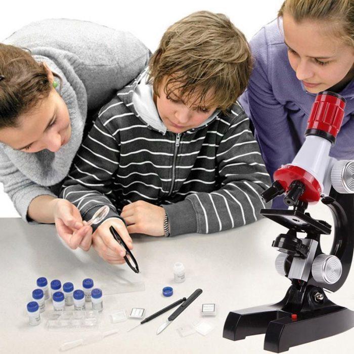 מיקרוסקופ לילדים למחקר ולמידה
