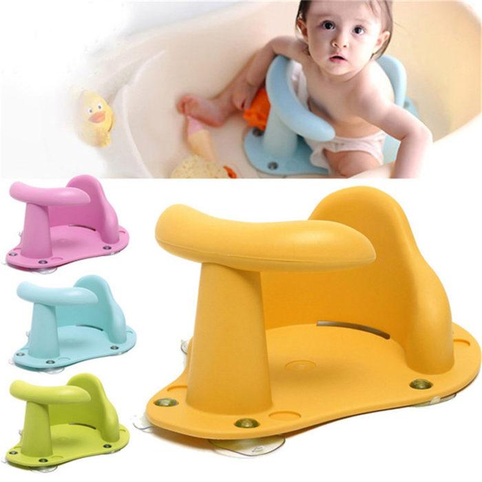 מושב בטיחות לרחצת ילדים באמבטיה