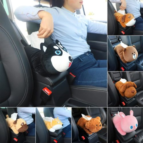 מחזיק נייר טישו לרכב בצורת חיות חמודות
