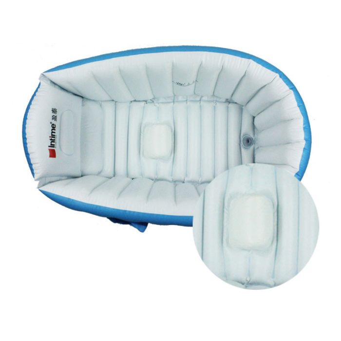 אמבטיה מתנפחת לילדים עם משאבת אוויר