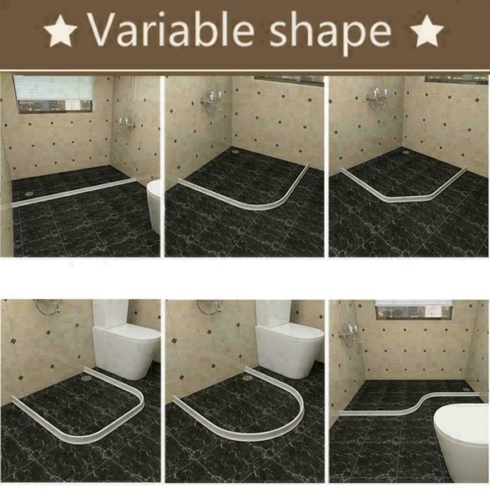 משטח דבק לאיטום מים מסביב למקלחת