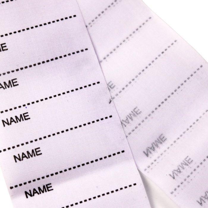 200 תגים לכתיבת שמות וסימון בגדים בכביסה