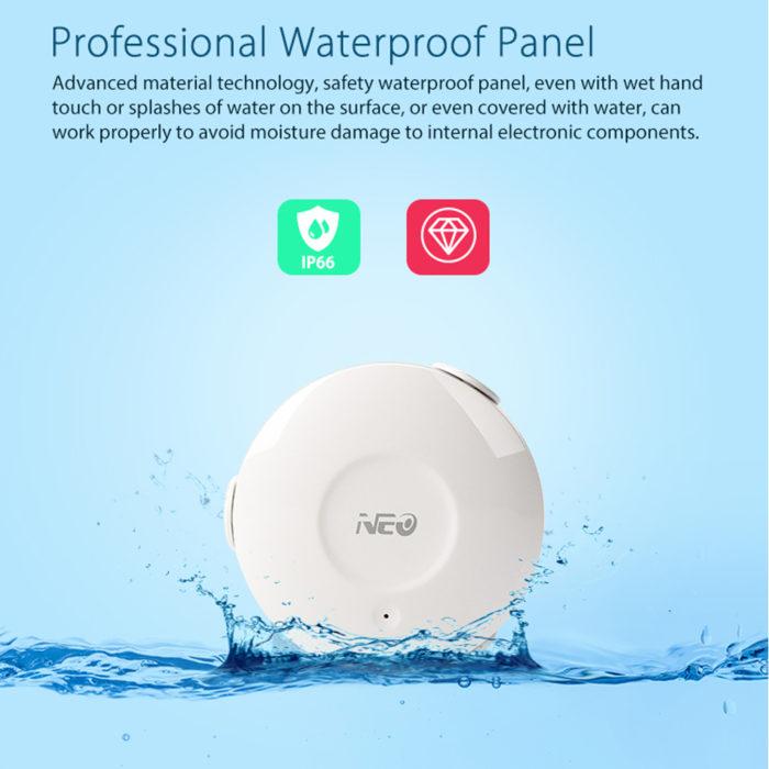מערכת להתראה על רטיבות ודליפה של מים לטלפון הנייד בכל זמן