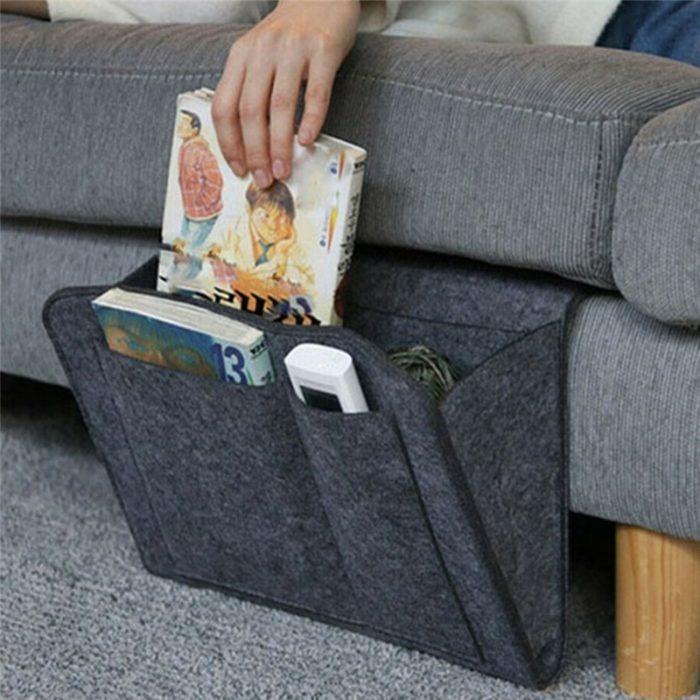 כיס אחסון לצד המיטה