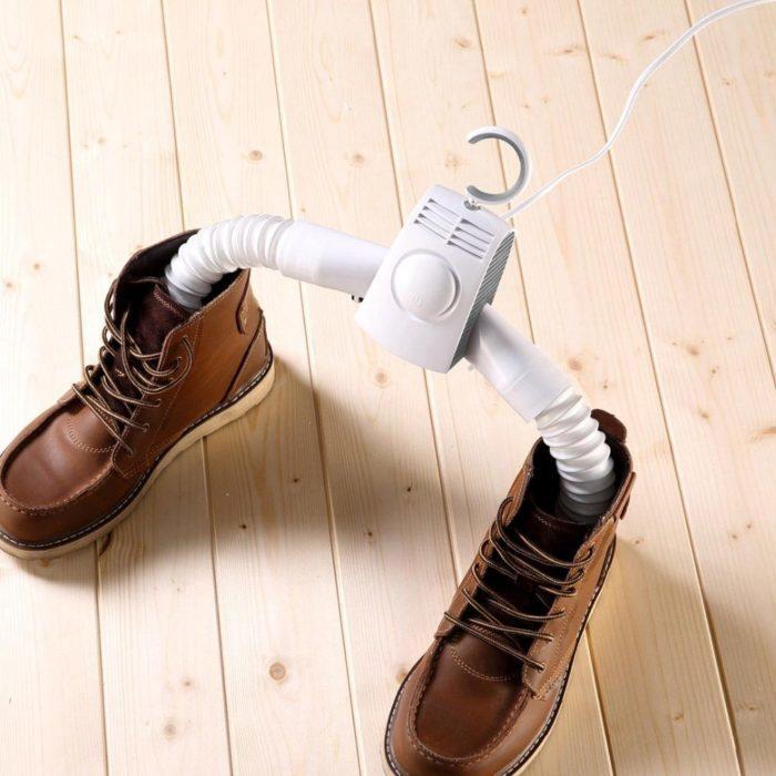 קולב חשמלי לייבוש מהיר של בגדים