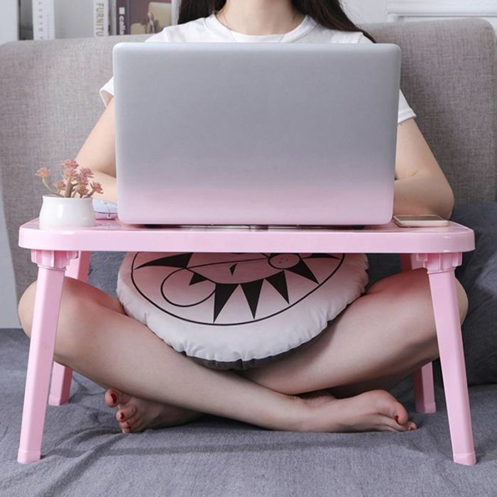 מיני שולחן ללימוד וכתיבה על המיטה בנוחות מירבית