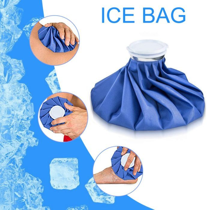3 שקיות קרח רב פעמיות לשימוש על פציעות