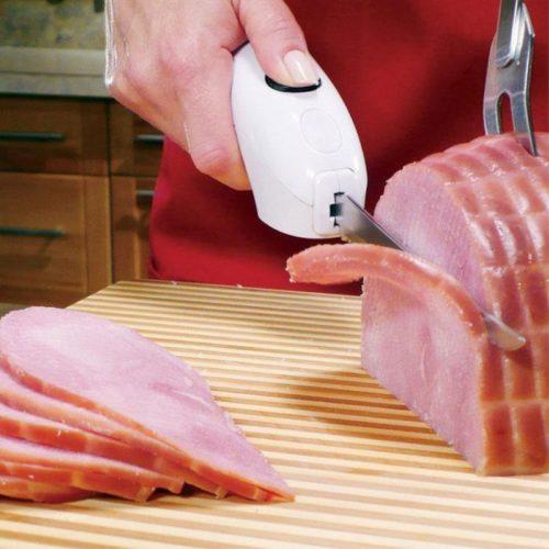 סכין חשמלית למטבח הפועלת באמצעות סוללות