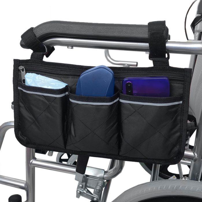 תיק לכיסא גלגלים לנשיאת חפצים אישיים בקלות