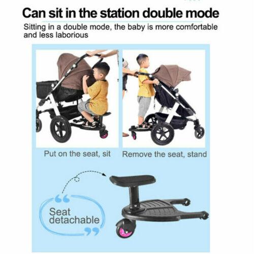טרמפיסט לעגלת תינוקות להובלת ילדים בישיבה או בעמידה