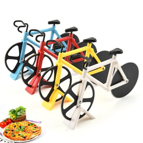 רולר לחיתוך פיצה בצורת אופניים