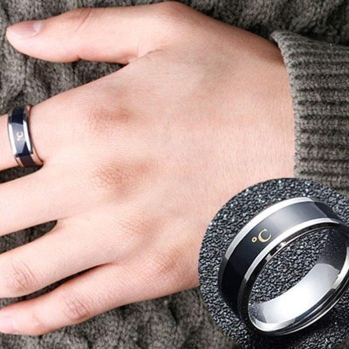 טבעת המציגה את חום הגוף