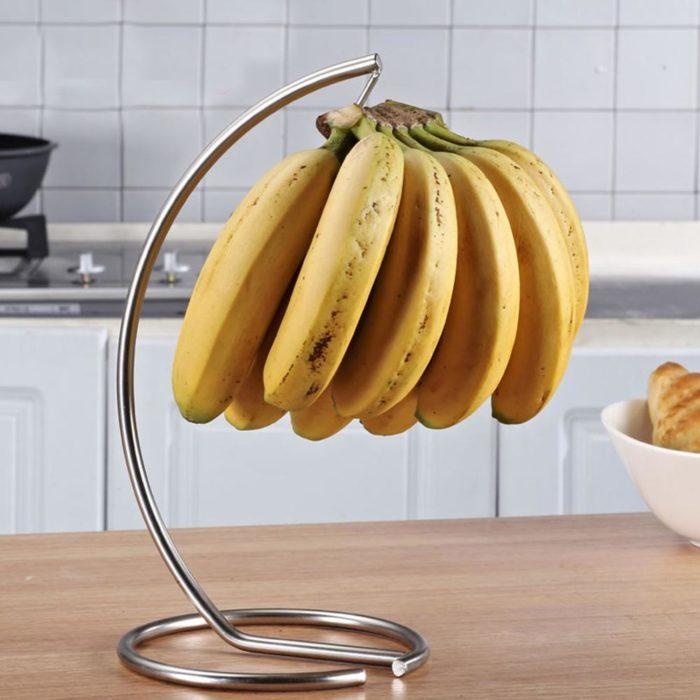 מתלה בננות לשמירה על טריות לזמן ארוך יותר