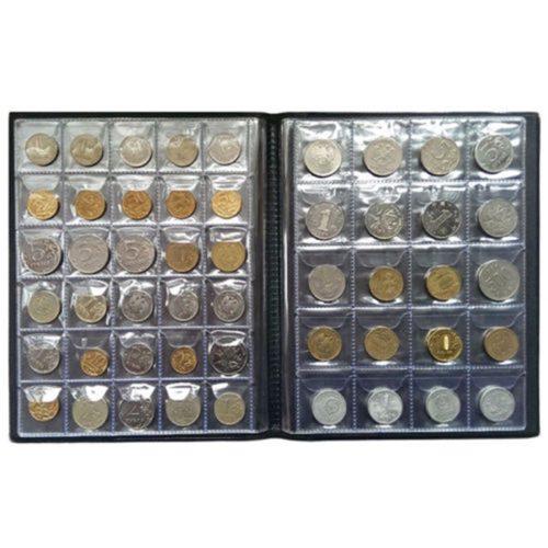 אלבום מטבעות לאחסון 250 מטבעות