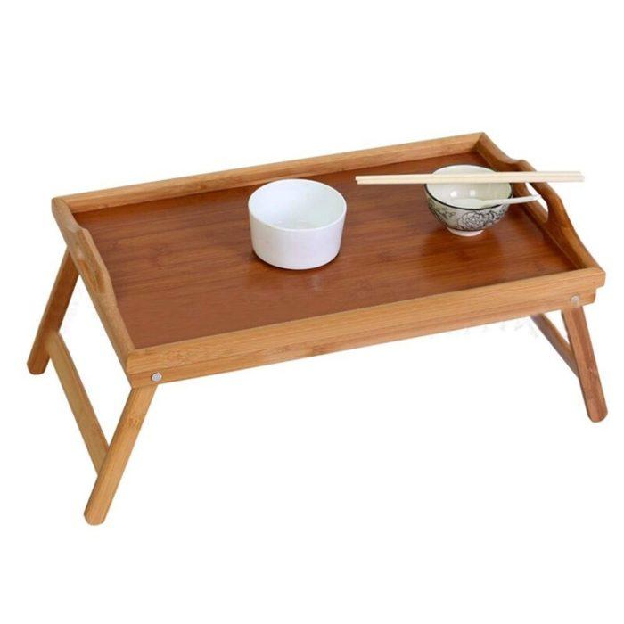 שולחן מגש להגשת ארוחות בוקר למיטה