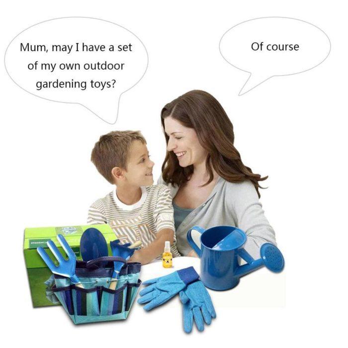 סט כלי גינון לילדים