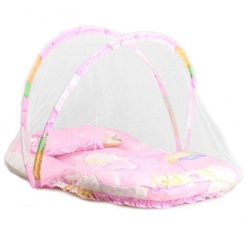 מיטת תינוק ניידת מתקפלת עם רשת מובנית