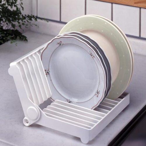 מיני מתקן מתקפל לייבוש כלים