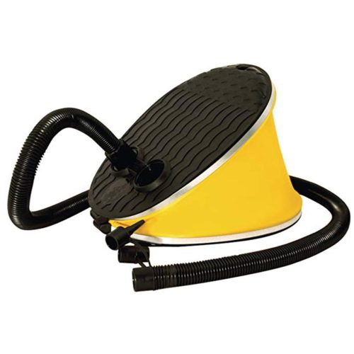 משאבת אוויר ידנית באמצעות דריכה עם 3 סוגי ראשים