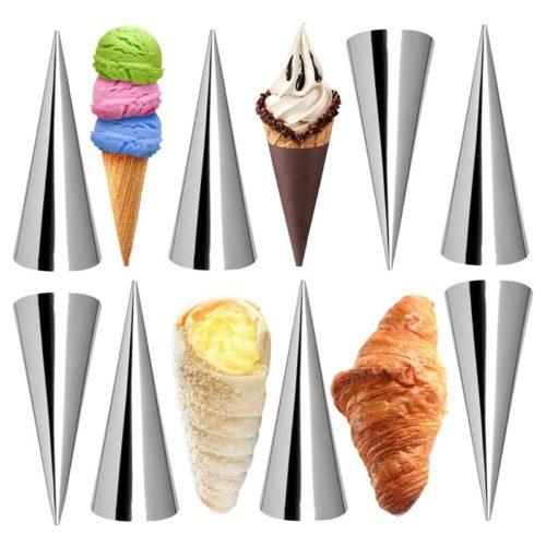 תבנית קונוס להכנת גביעי גלידה (סט של 12 יח')