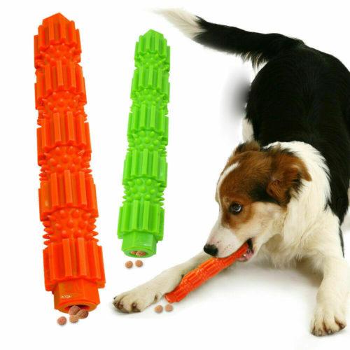 צעצוע לעיסה מברשת שיניים לכלב עם מילוי לחטיפים