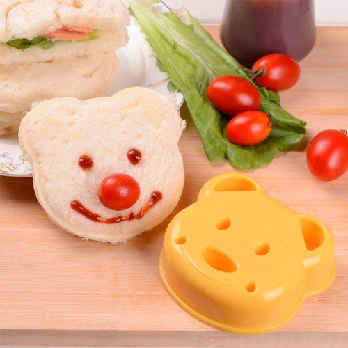 חותך פרוסה לילדים בצורת דובי