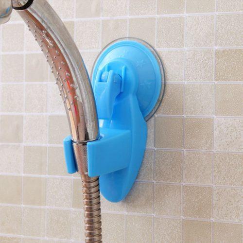 מעמד נתלה לראש מקלחת ללא צורך בקדיחה בקיר