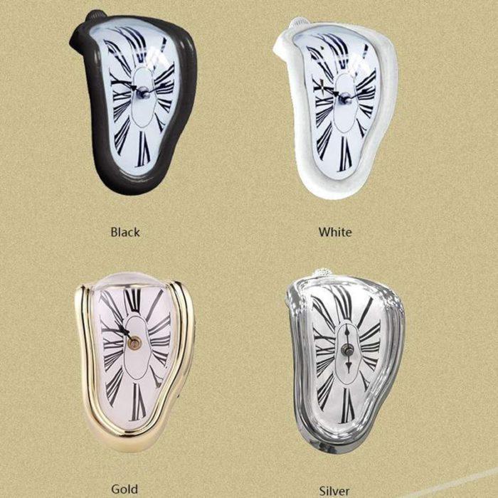שעון נמס דקורטיבי לבית