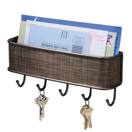 מתלה לאחסון דואר ומפתחות