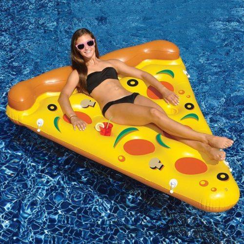 מזרן בריכה מתנפח בצורת משולש פיצה