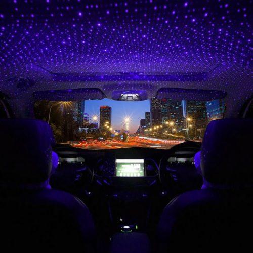 תאורת כוכבים מגניבה לרכב עם חיבור USB
