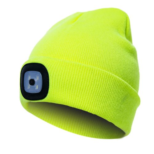 כובע גרב עם פנס לטיולים