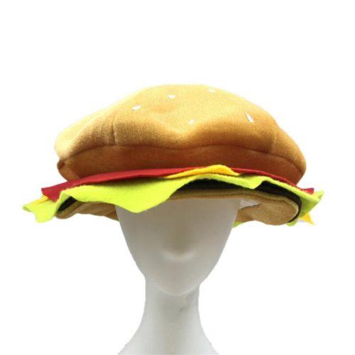 כובע מצחיק בצורת המבורגר