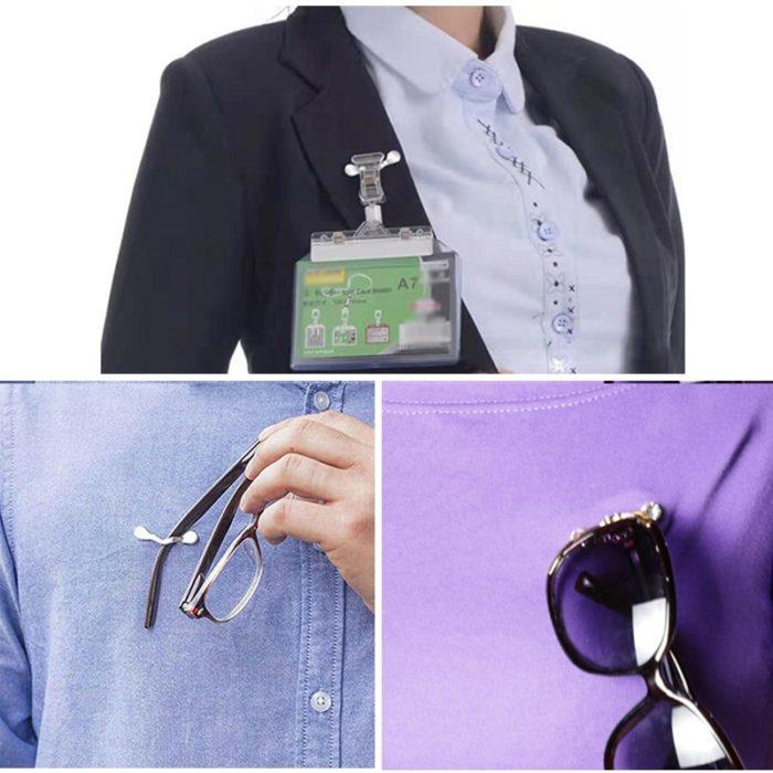 קליפס מגנטי רב שימושי להחזקת משקפיים על החולצה