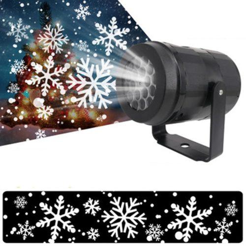 מקרן אור בצורת פתיתי שלג