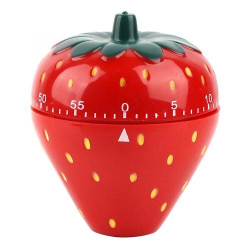 טיימר למטבח עד 60 דקות בצורת תות