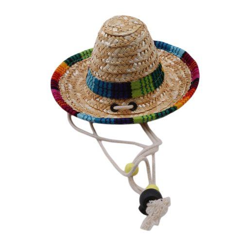 כובע סומבררו לחתולים וכלבים קטנים